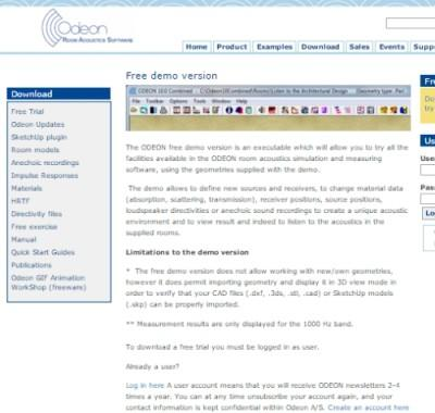 Demo wersja oprogramowania ODEON