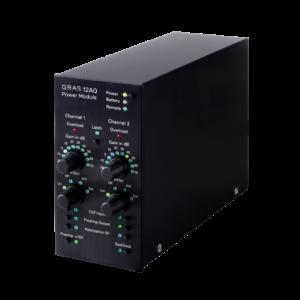 Dwukanałowy moduł zasilający 12AQ ze wzmocnieniem, filtrem i SysCheck