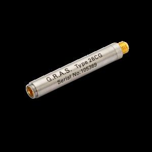 """Przedwzmacniacz 26CG ¼"""" ICP złącze Microdot, niskie częstotliwości"""