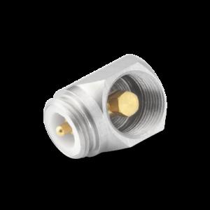 """Prawy (90°) adapter kątowy dla mikrofonu ¼"""" i przedwzmacniacza ¼"""" RA0006"""