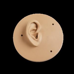 Duża małżowina uszna KB0078 do sztucznej głowy 45CB, prawa