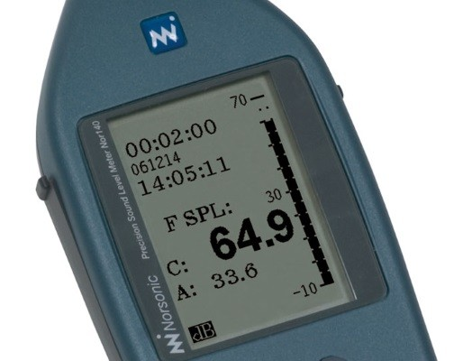 Przenośny analizator dźwięku Nor140