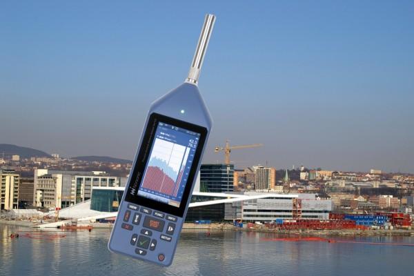 Zaawansowany analizator dźwięku i drgań Nor150