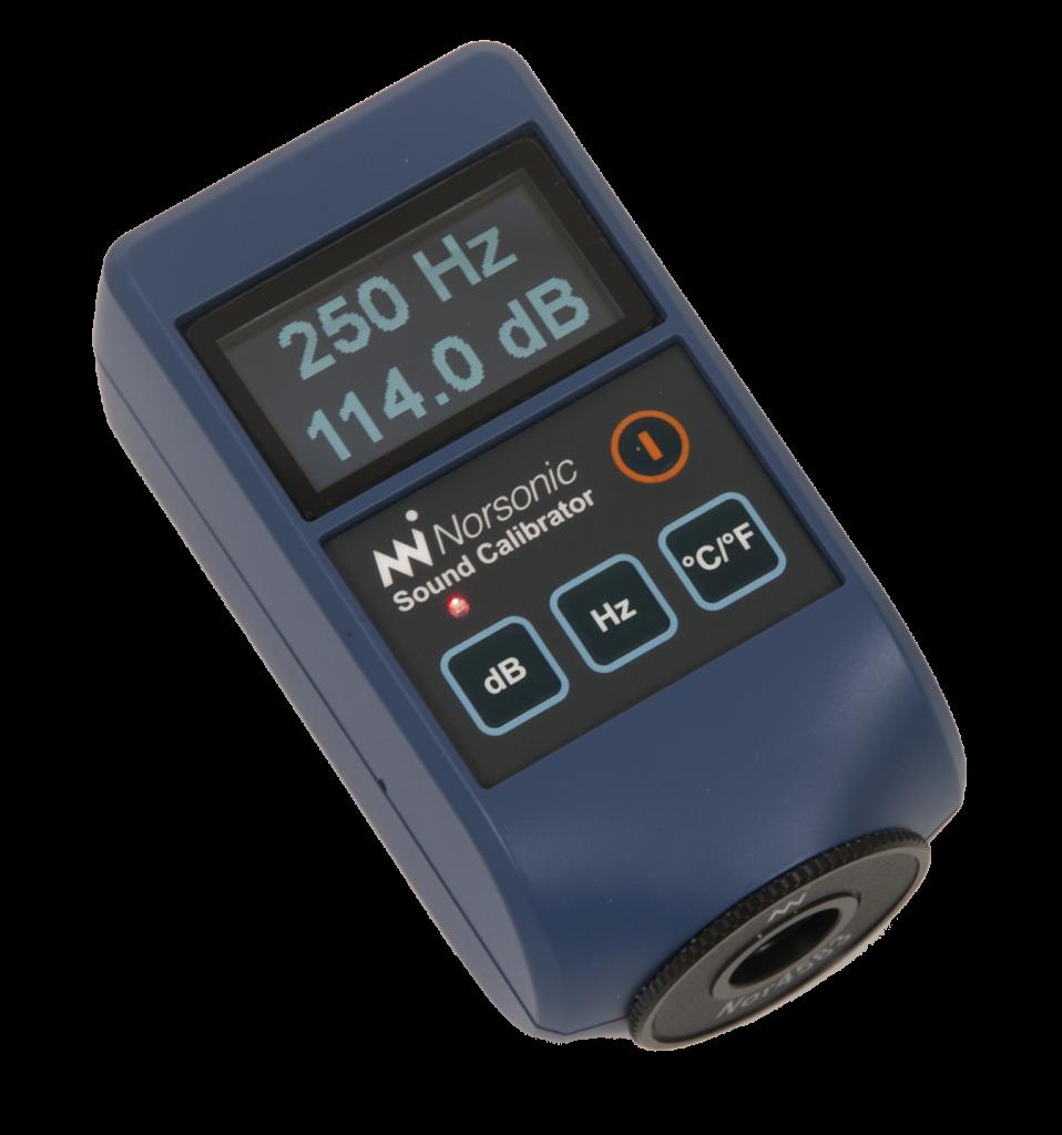 Elektroniczny kalibrator akustyczny