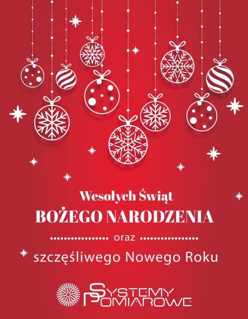 Wesołych Świąt oraz Szczęśliwego Nowego Roku!