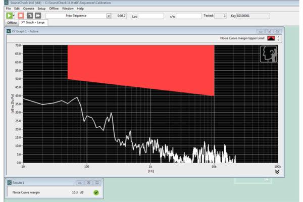 Oprogramowanie NoiseCheck
