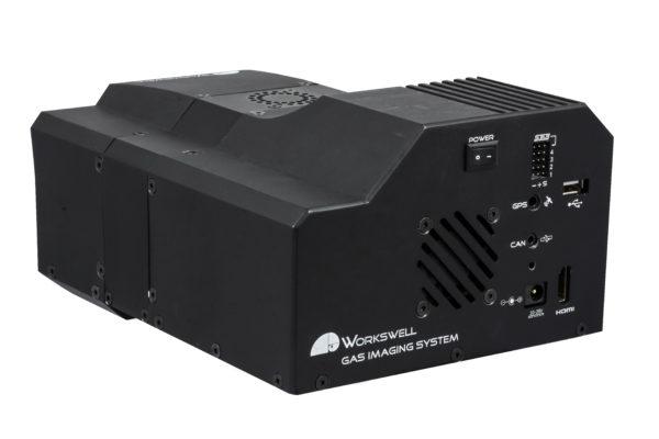 Kamera termowizyjna do detekcji gazów dla BSP i dronów – Workswell GIS-320