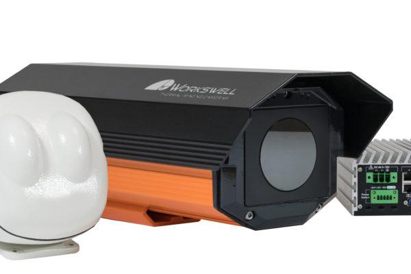 Workswell SAFETIS Outdoor Pan-Tilt – kamera termowizyjna do wykrywania zagrożenia zapalenia