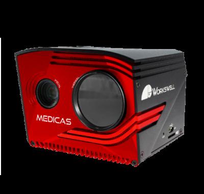 Kamera termowizyjna MEDICAS do skanowania twarzy!