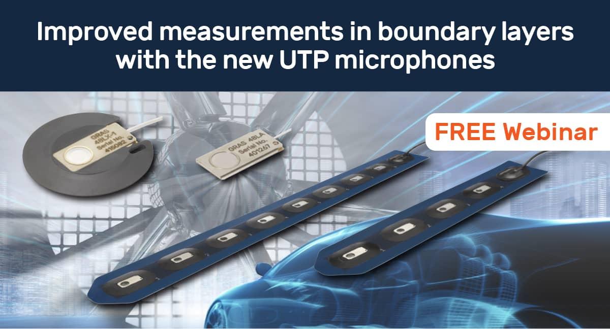 Zaproszenie na webinarium: G.R.A.S. – najcieńszy mikrofon pomiarowy UTP