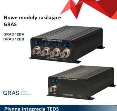 Nowe moduły zasilające GRAS